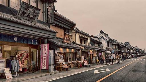 Phố Kawagoe – Đảo Honshu